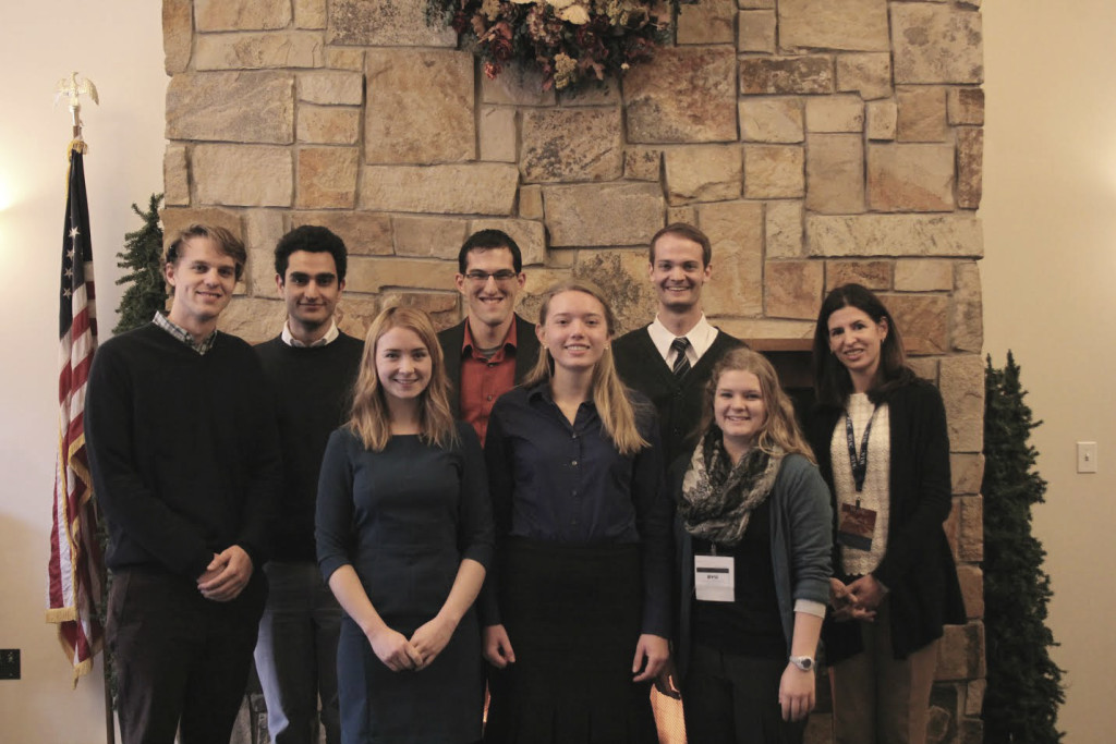 BYU students at WIAC