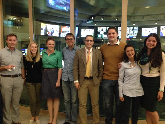 BYU political science students attend the 2014 Provo  Attorney General Debate.