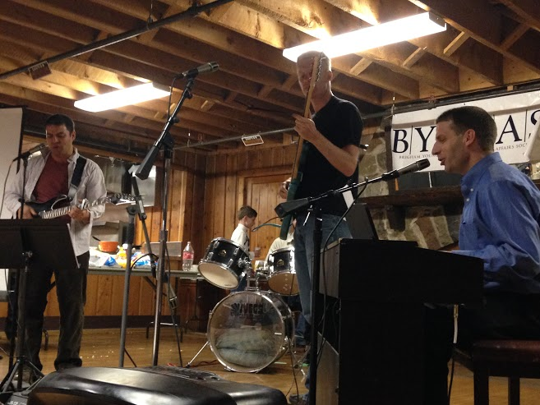 Faculty and friends perform for BYU students and families at the 2014 BYUPAS Oktoberfest.